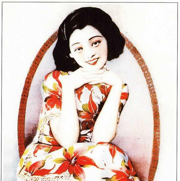 旧上海月份牌美女海报,双妹海报,海报,双妹 (10)