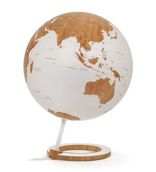Kristoffer Zeuthen,竹制地球仪
