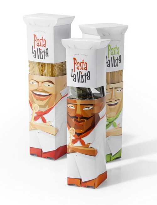 意大利,Pasta la vista,通心粉,创意,包装