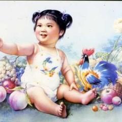 中国宣传画欣赏-孩子